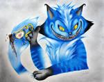 Mischievously Blue