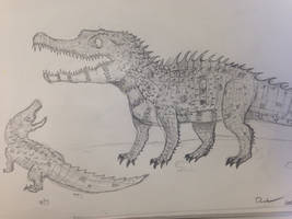 Akanthosuchus Langstoni by Giga-fan123