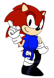 Manu The Hedgehog Classic by quotegamer