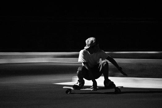 Night Skateboarding