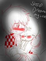 Sleep dream my love by SonicVsShadow109