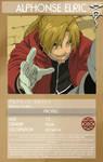 FMA Character Profile-Alphonse
