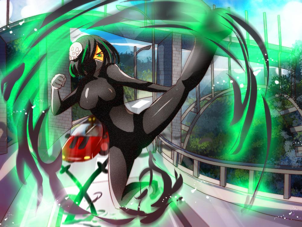 CR Big War II Stage 3 : ....green kick (?) by Avaloki