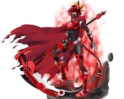 Comm 2018 :  Ruby Rose Crystal Armament-base by Avaloki