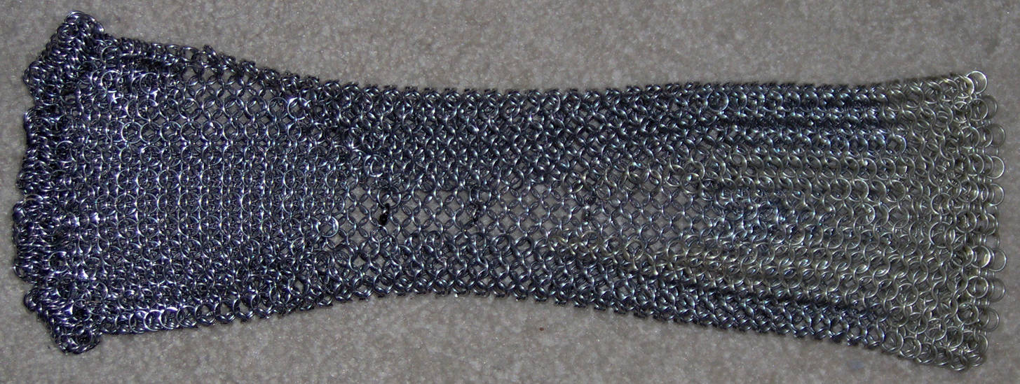 Chainmaille Glove Finished