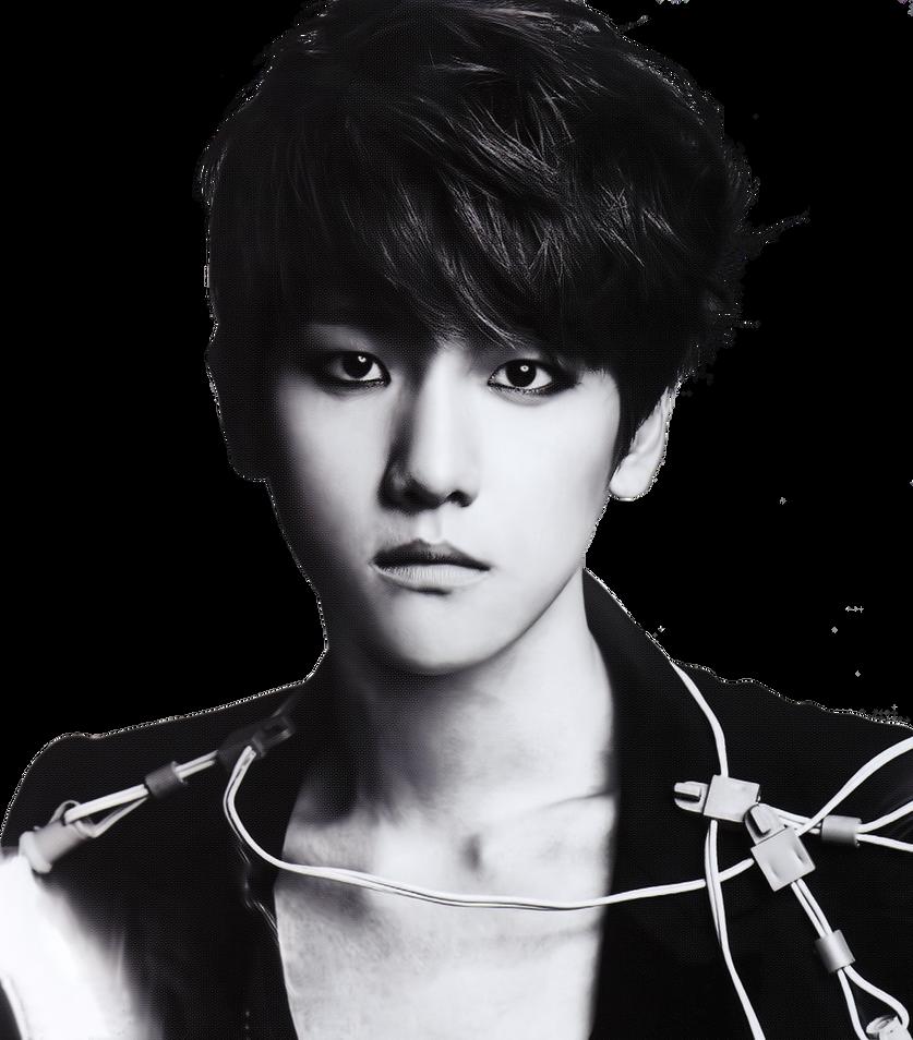 L'officiel Hommes Baekhyun Png/Render by Luaekyeolt