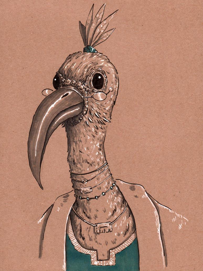 Creature Council: Ibis by Jcoon