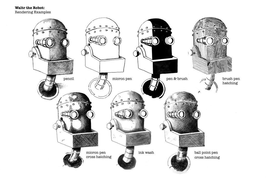 Waltr Rendering Examples by Jcoon