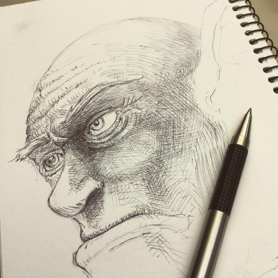Ogre Sketch... by Jcoon