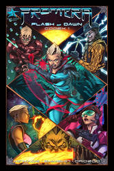 Frontera Kickstarter is now ON! by RIVAL-COMICS1