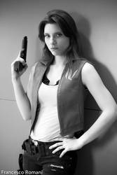 Claire from resident evil