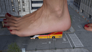 Coach-sized Foot - 21