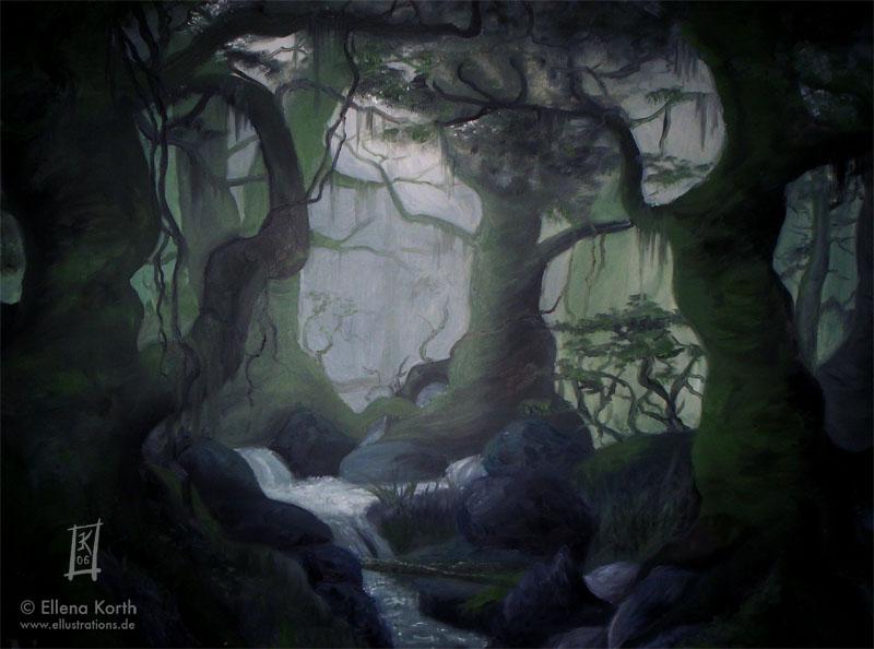 LotR - Fangorn by H-Ell
