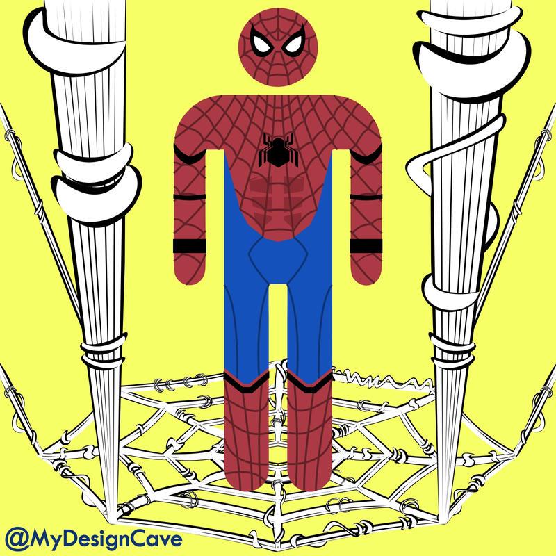 Spiderman (Tom Holland Civil War Version) by AlottaOficial