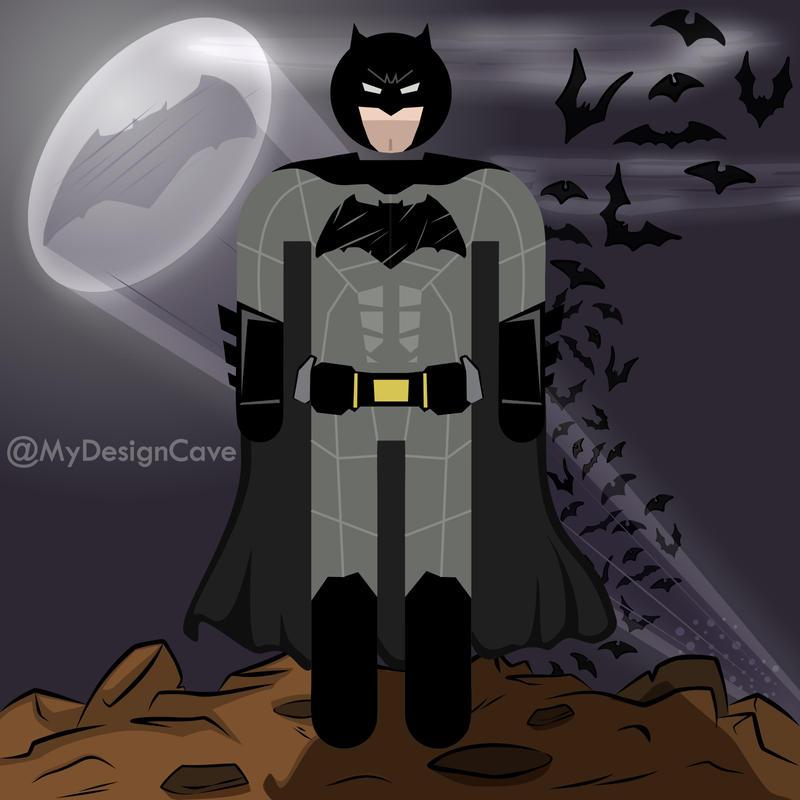 Batman - (Ben Affleck Batman v Superman Version) by AlottaOficial