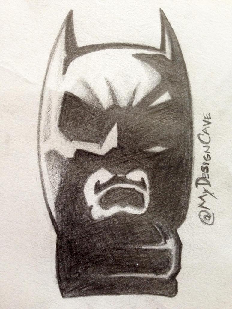 Batman Sketch (Christian Bale Version) by AlottaOficial
