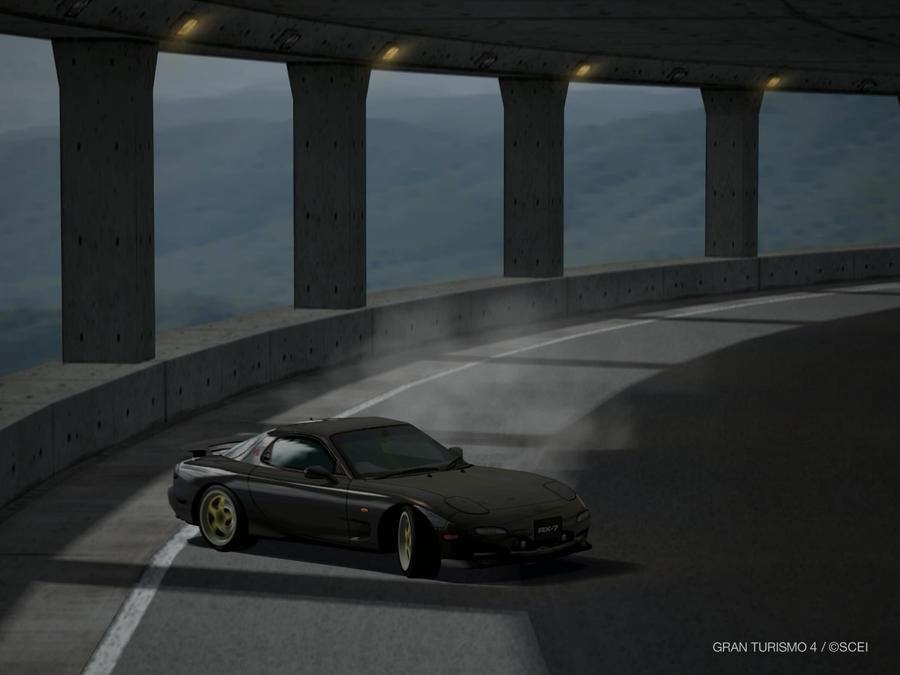 rx7 wallpaper. Wallpaper. Mazda RX7 Drift