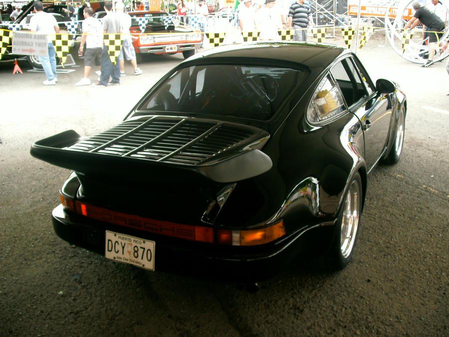 Blackbird Porsche rear by Mister-Lou