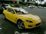 Yellow RX8