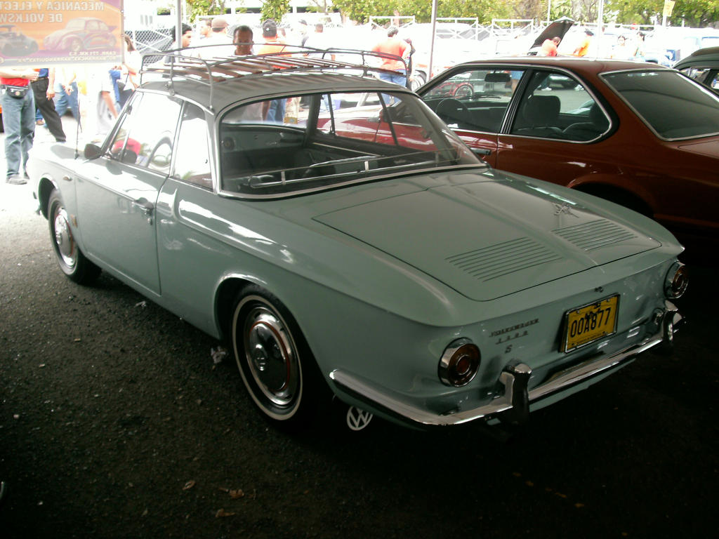 VW Type 34 Ghia rear view by
