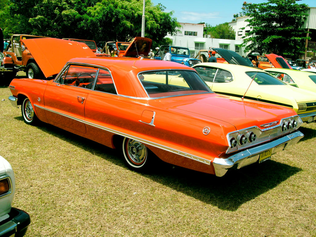 All Chevy 63 chevy 409 63' 409 Chevy impala SS by Mister-Lou on DeviantArt