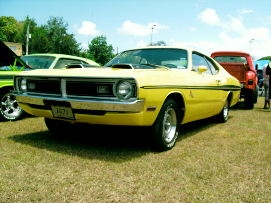 1971 Dodge Demon By Mister Lou On Deviantart