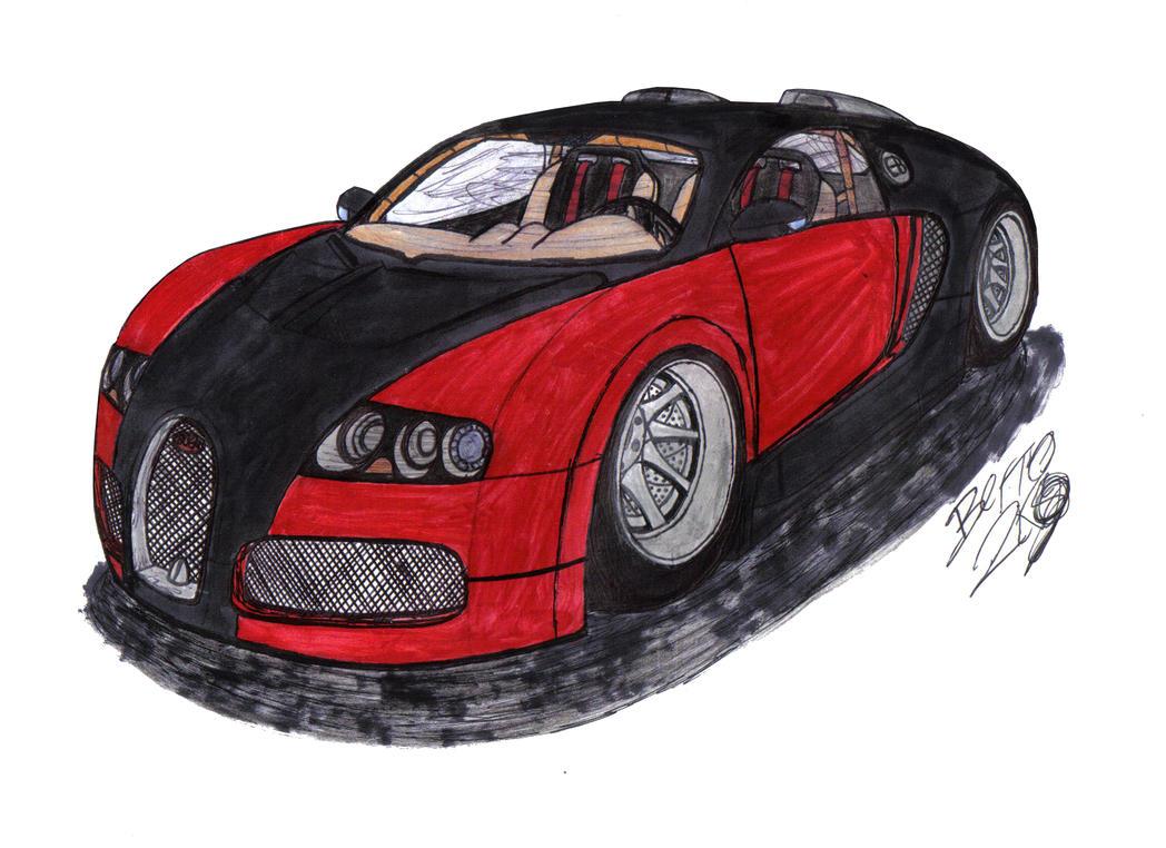 how to make a bugatti veyron