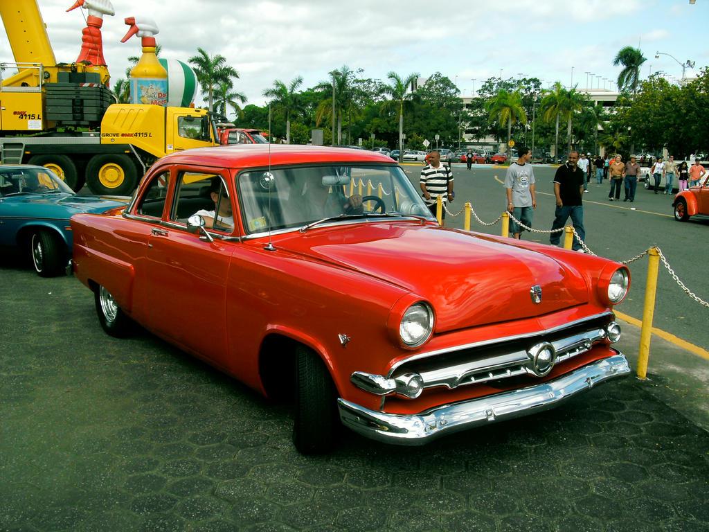 1954 Ford Sedan by *LPAGAN401