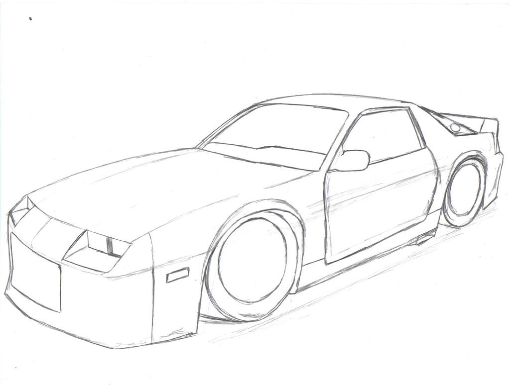 Camaro colouring pages pictures for Camaro coloring page