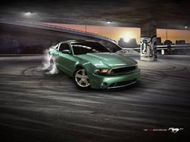 2010 Bullitt Mustang by Mister-Lou
