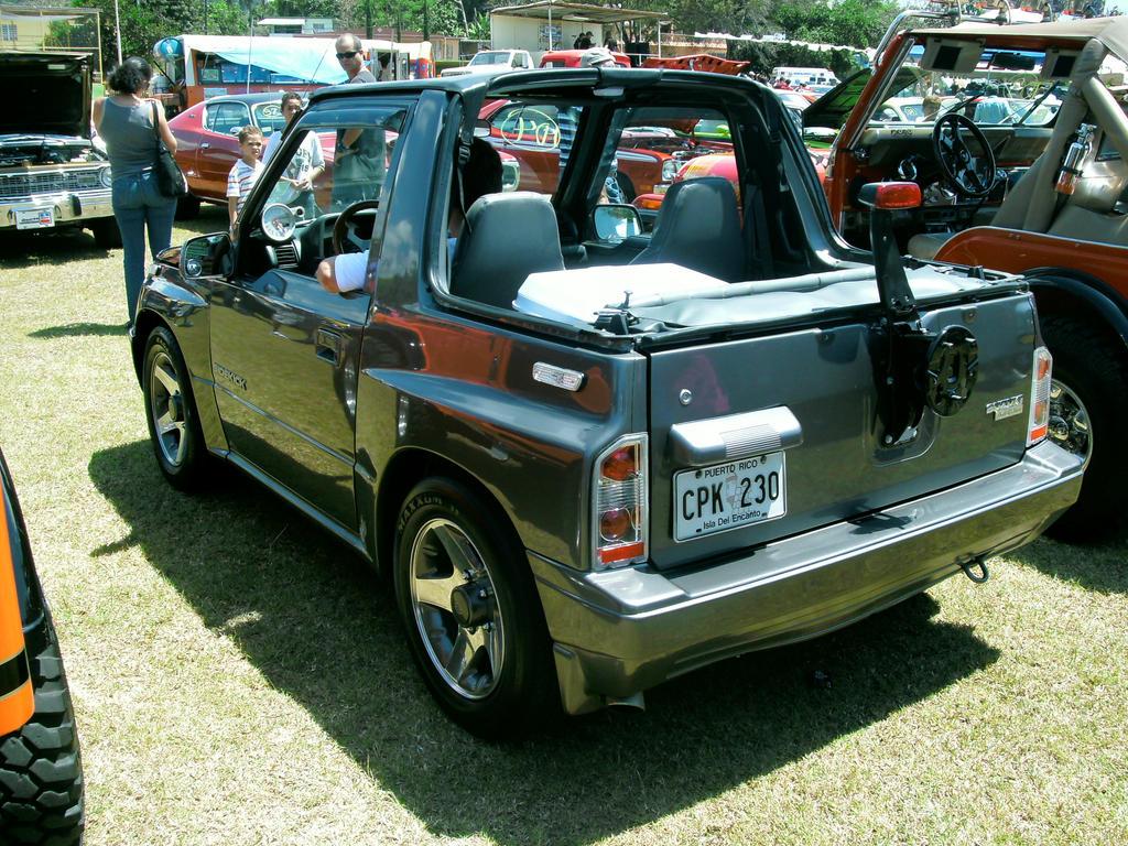 Suzuki Sidekick Rear By Lpagan