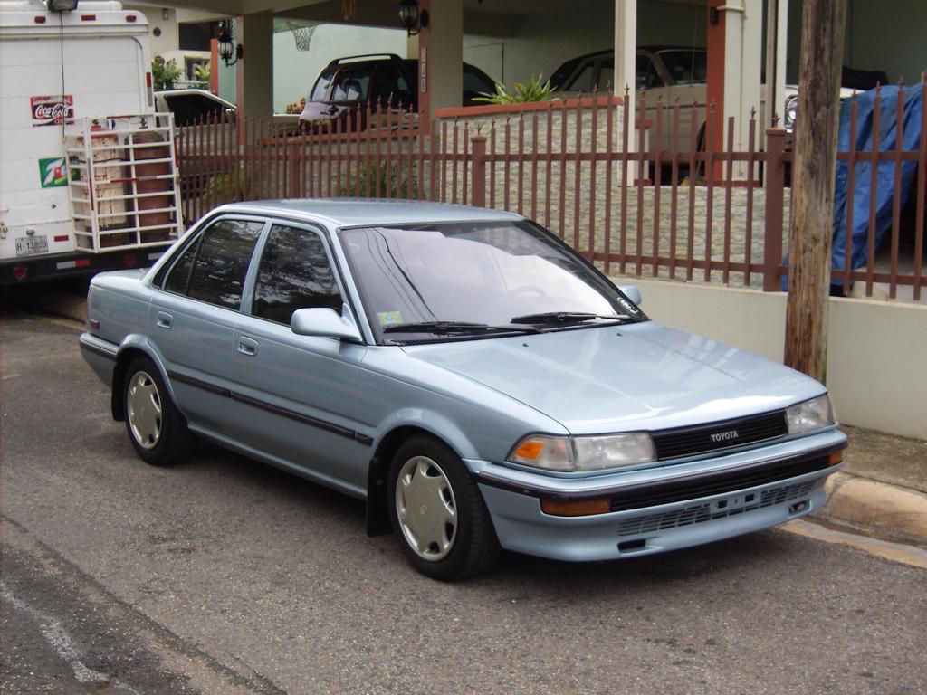 Modified Toyota Corolla 1990 1990 Toyota Corolla Sedan by