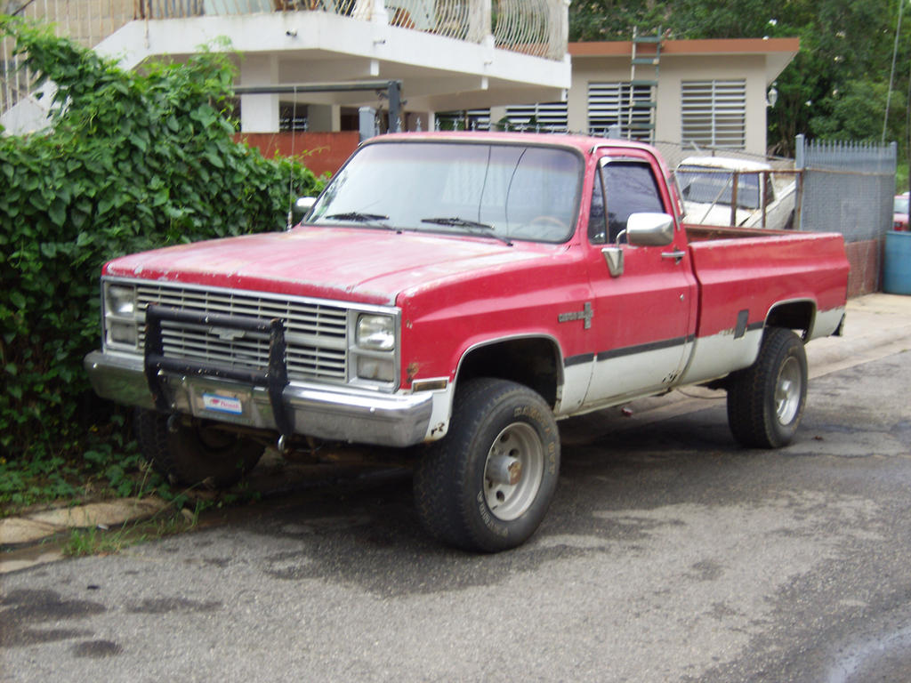 86 chevrolet k20 4x4 by mister lou