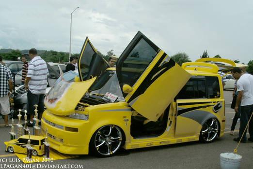 Yellow Scion XB for Tengai