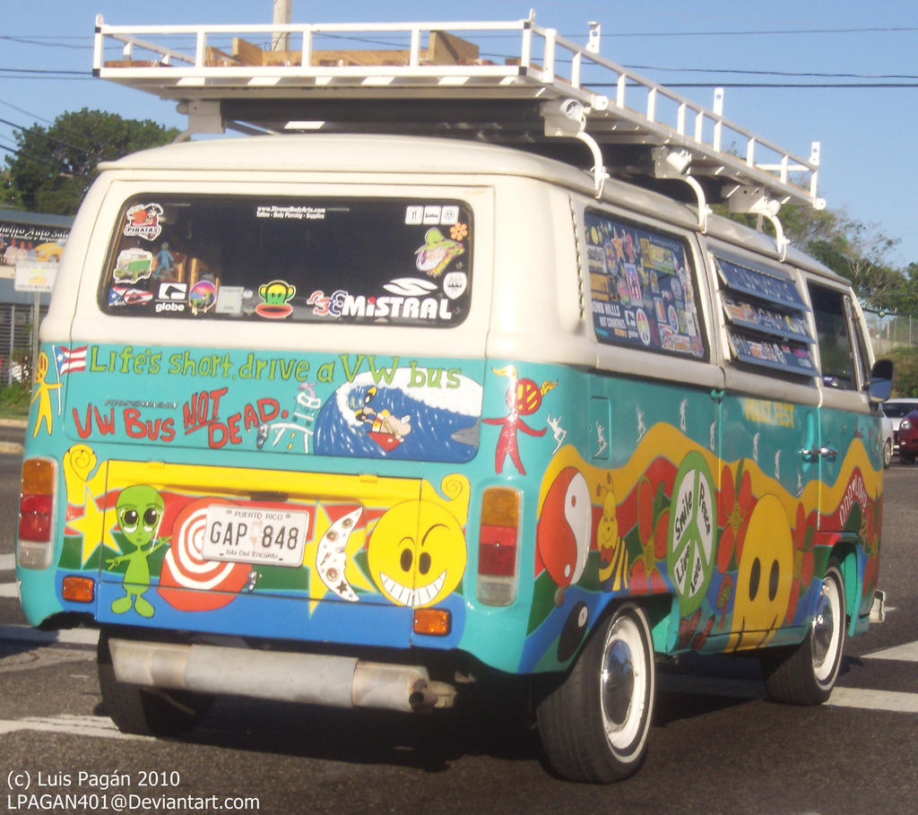 VW Hippy Van 2 by ~LPAGAN401 on deviantART
