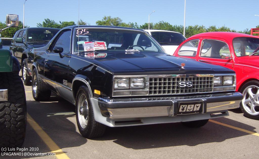 81 U0026 39  Chevy El Camino Ss By Mister
