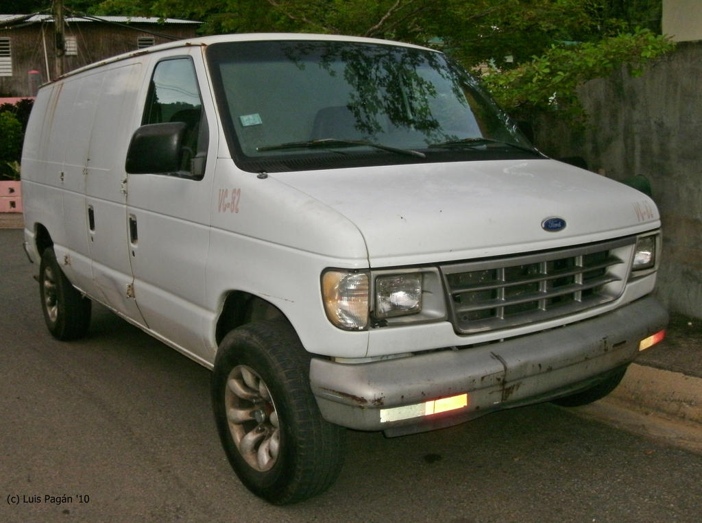 90s Ford E Series Van By