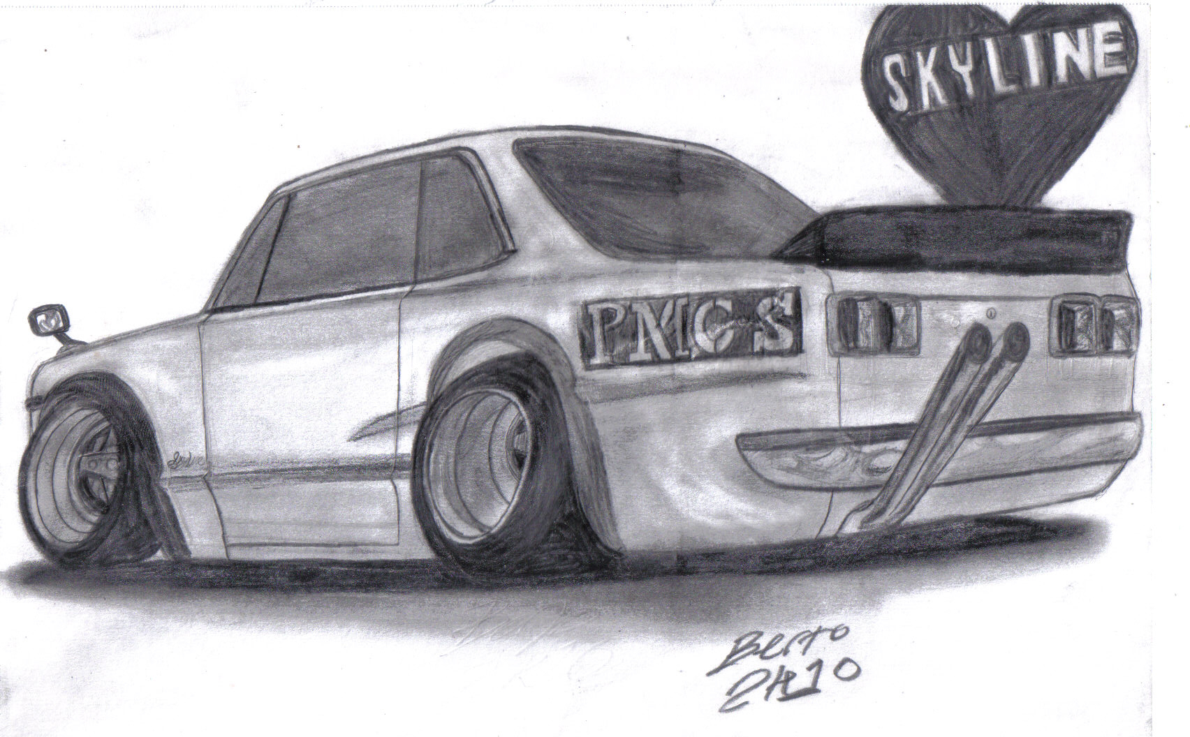 70 Nissan Skyline Ht2000gt R By Mister Lou On Deviantart
