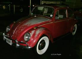 Patina'd VW Beetle by Mister-Lou