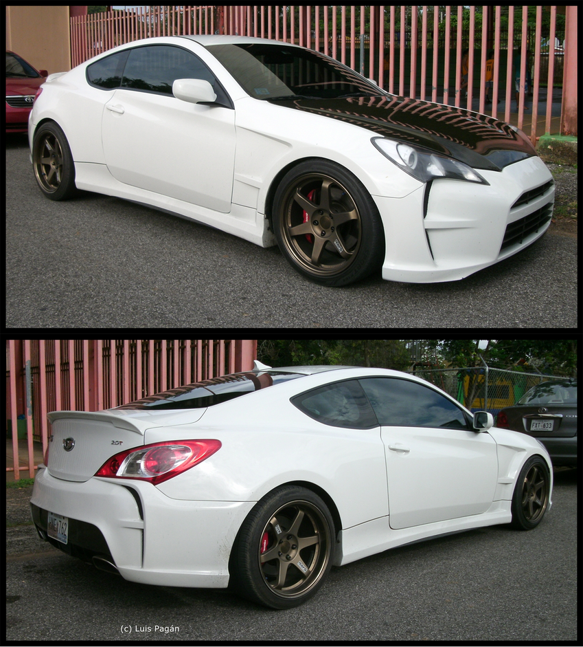 Customized Hyundai Genesis By Mister Lou On Deviantart