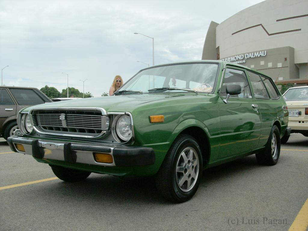 1975 green Toyota Corolla Wagon(KE36) by Mister-Lou on DeviantArt