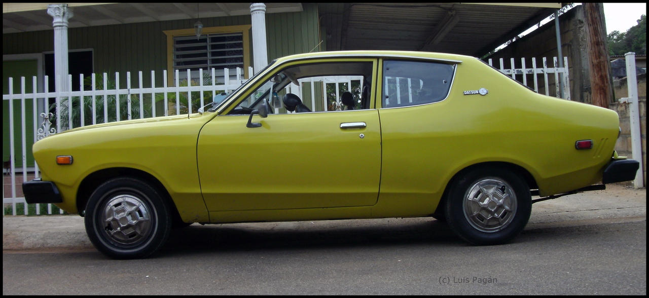 76 Datsun B210 Profile By Mister Lou On Deviantart
