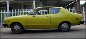76' Datsun B210 profile