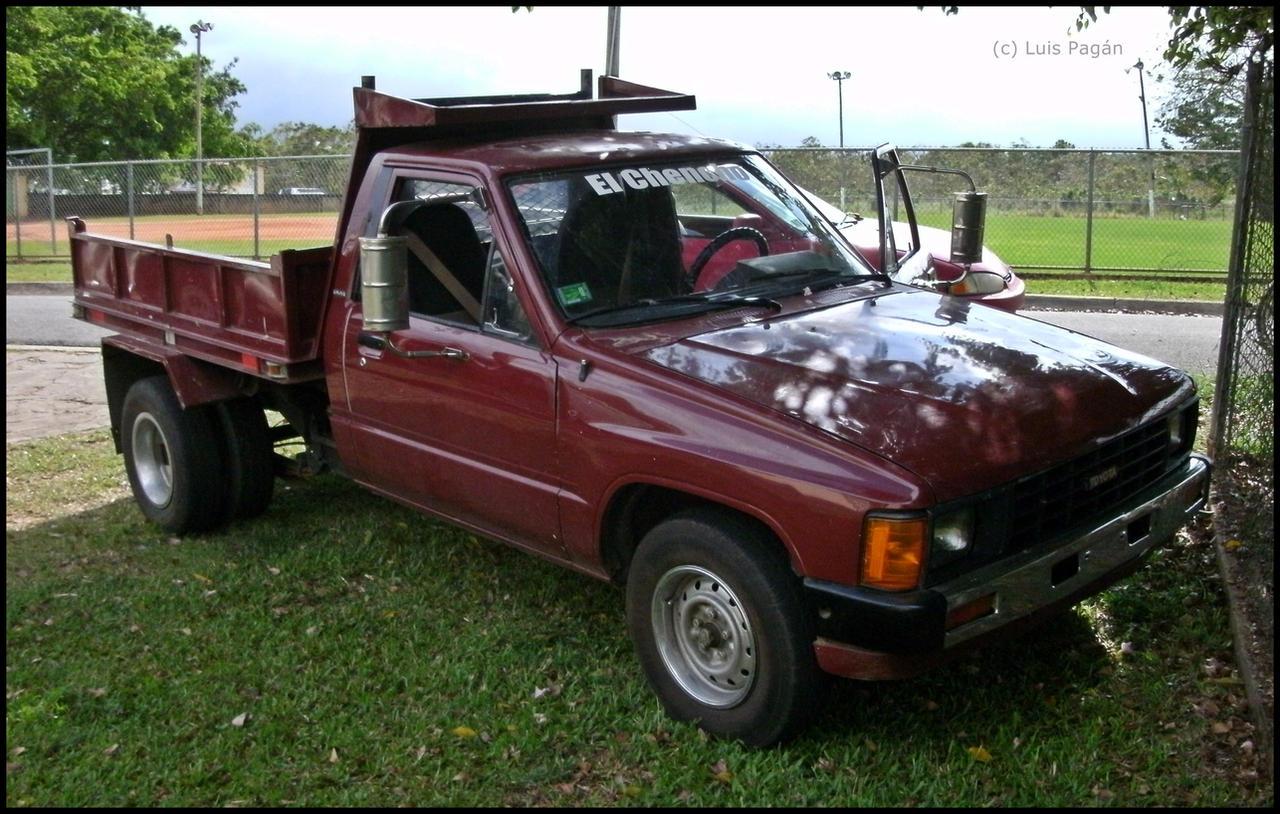 Tiny Trucks Tiny Toyota Dump Truck By Mister Lou On Deviantart