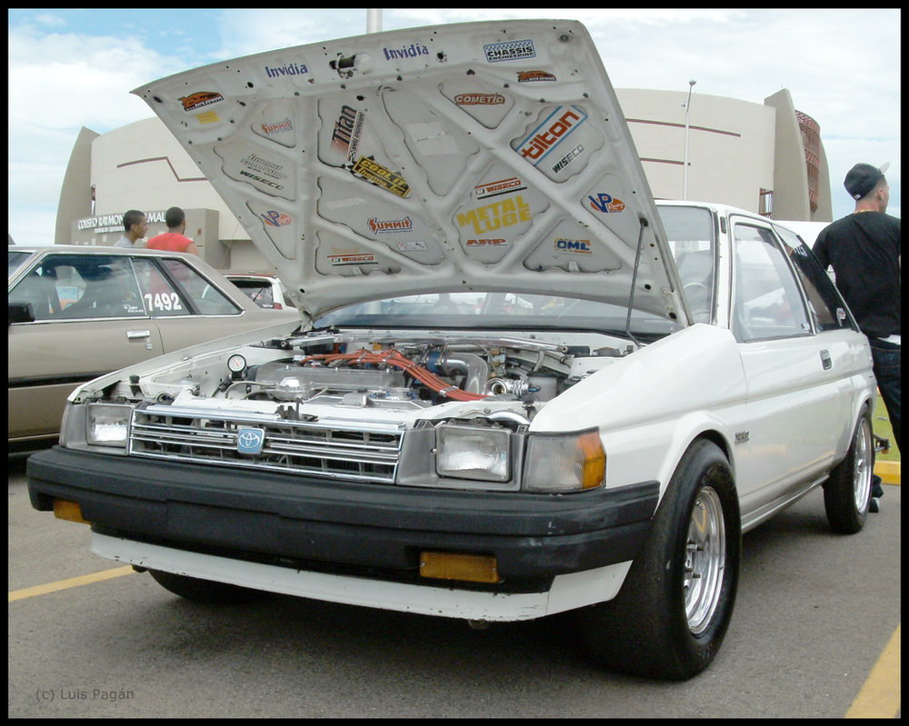 Drag racing Toyota Tercel hatchback by Mister-Lou on DeviantArt