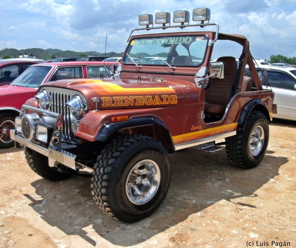 Jeep Renegade Cj5 By Mister Lou On Deviantart