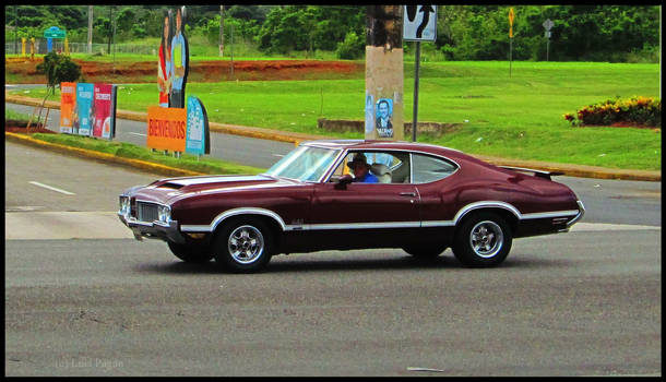 1970 Oldsmobile Cutlass 4-4-2