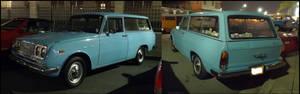 67' Toyota Corona 3 door wagon