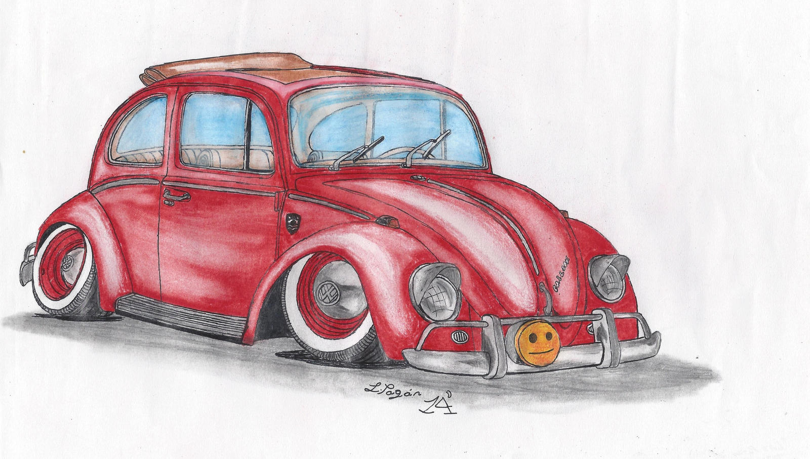 65 VW Beetle 1300 Stanced By Mister Lou