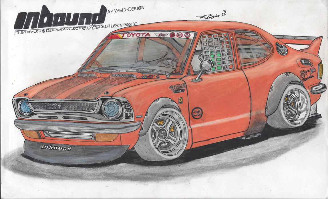 73' Toyota Corolla Levin 4000GT by Mister-Lou